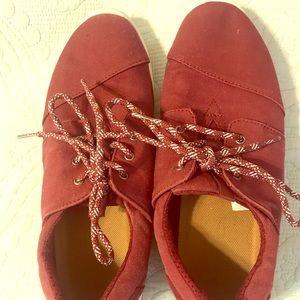 TOMS Women's Del Rey Canvas sneakers size 10